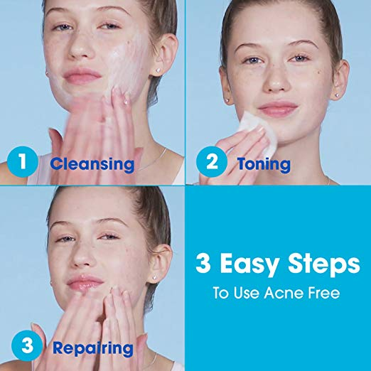 AcneFree 3 Step Acne Treatment Kit