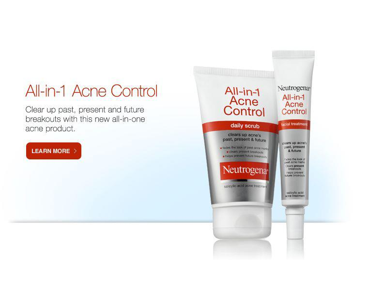 Neutrogena All in One Acne Control2