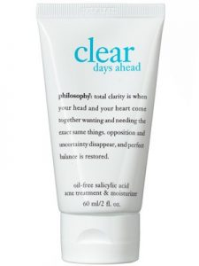 Philosophy Clear Days Ahead Moisturizer