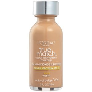 L'Oreal Paris Makeup True Match Super-Blendable Liquid Foundation